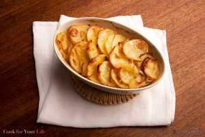 Papas y Manzanas Gratinadas Recipe Image