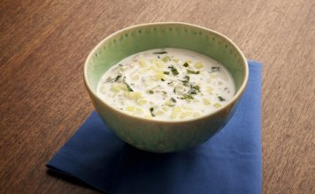 Cucumber, Yogurt & Wheat Berry Soup - Cook For Your Life- anti-cancer recipes