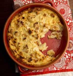 Pudín de Coliflor Recipe Image