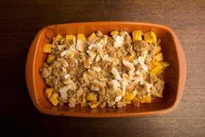 Crumble de Mango y Lima Recipe Image