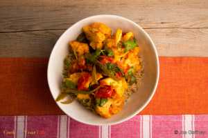 Coliflor al Curry Recipe Image