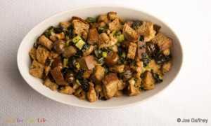 Relleno de Castañas y Salchicha Recipe Image