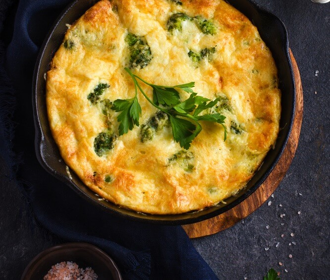 Spanish-Style Frittata Recipe Image