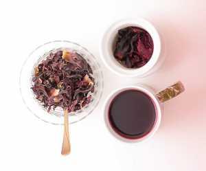 Té de jamaica y menta Recipe Image