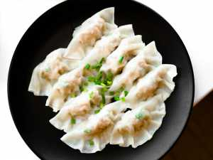 Chicken Dumplings Recipe Image