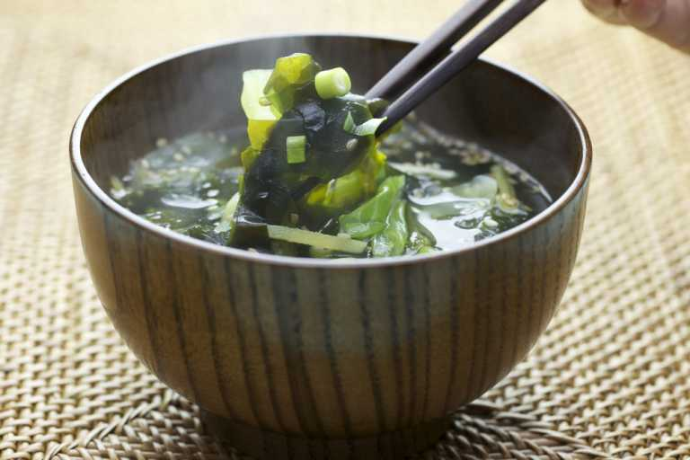 Cabbage Miso Soup Recipe Image