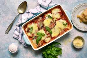 Eggplant Lasagna Recipe Image