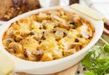 Potato-Carrot-and-Mushroom-Gratin