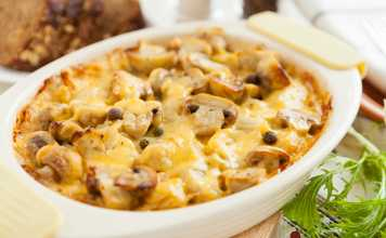 Potato-Carrot-and-Mushroom-Gratin