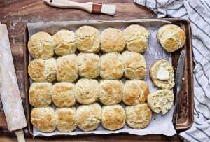 Coconut Oil Biscuits Recipe Image