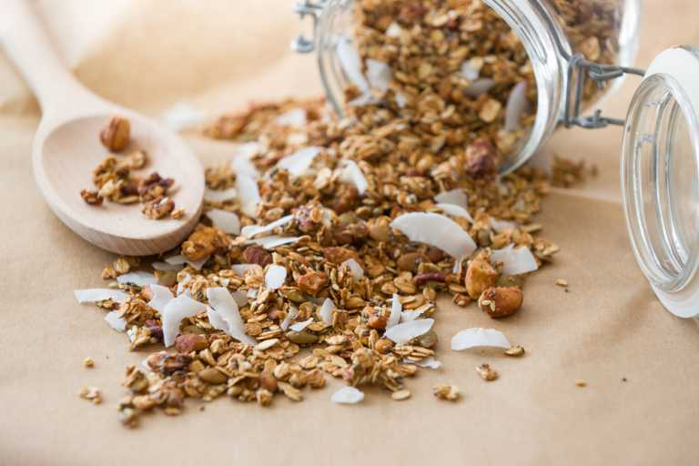 Coconut Granola Recipe Image