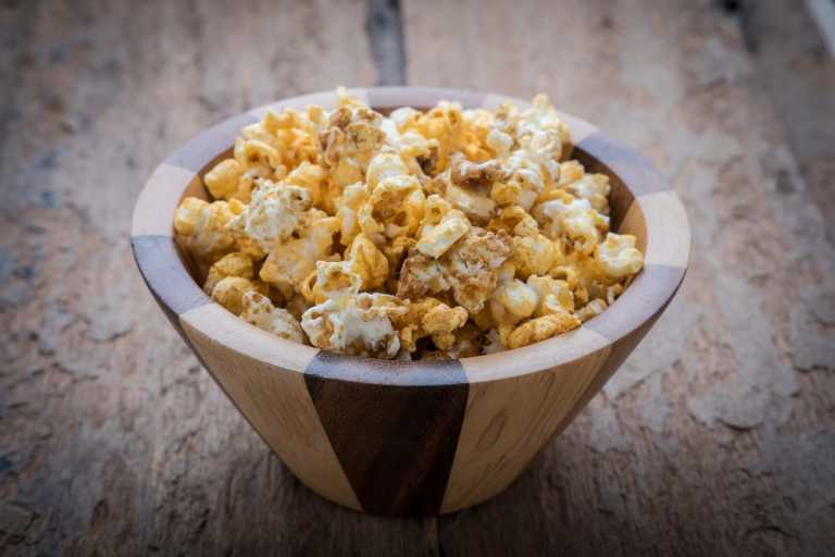Chai Spiced Popcorn Recipe Image