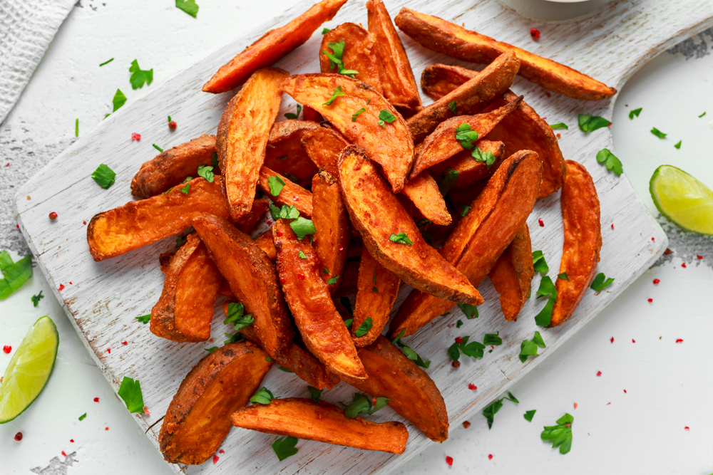 Savory Sweet Potato Fries Cook For Your Life