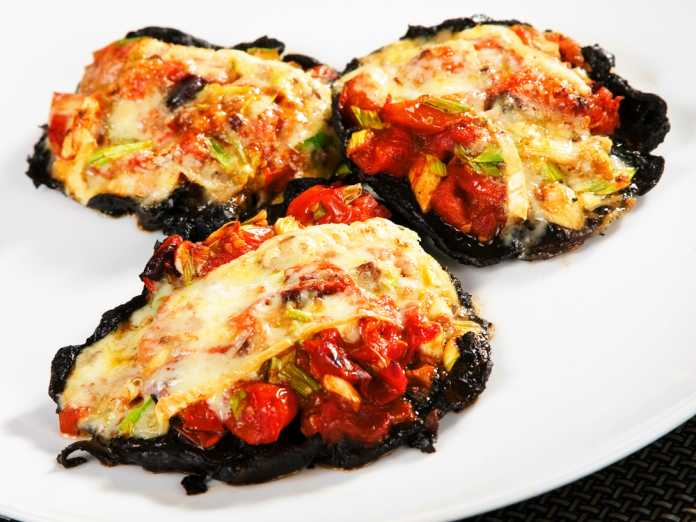 Basic Portobello Pizza
