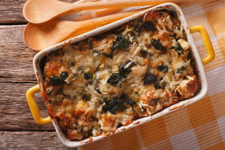 Breakfast Strata (Savory Bread Pudding) Recipe Image