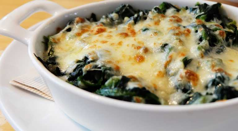 Cheesy Chicken Florentine Casserole Recipe Image