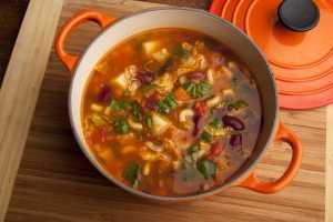 Grandma's Minestrone Soup Recipe Image