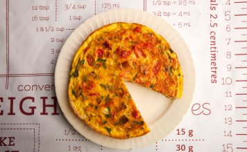 Potato Tomato Frittata - Cook For Your Life- anti-cancer recipes
