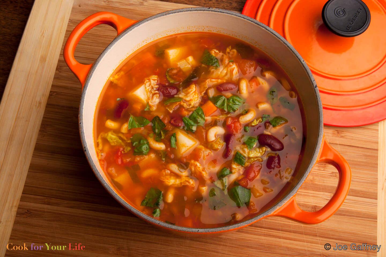 Grandma's Minestrone Soup Image