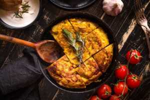Tortilla Española de Patata Dulce Recipe Image