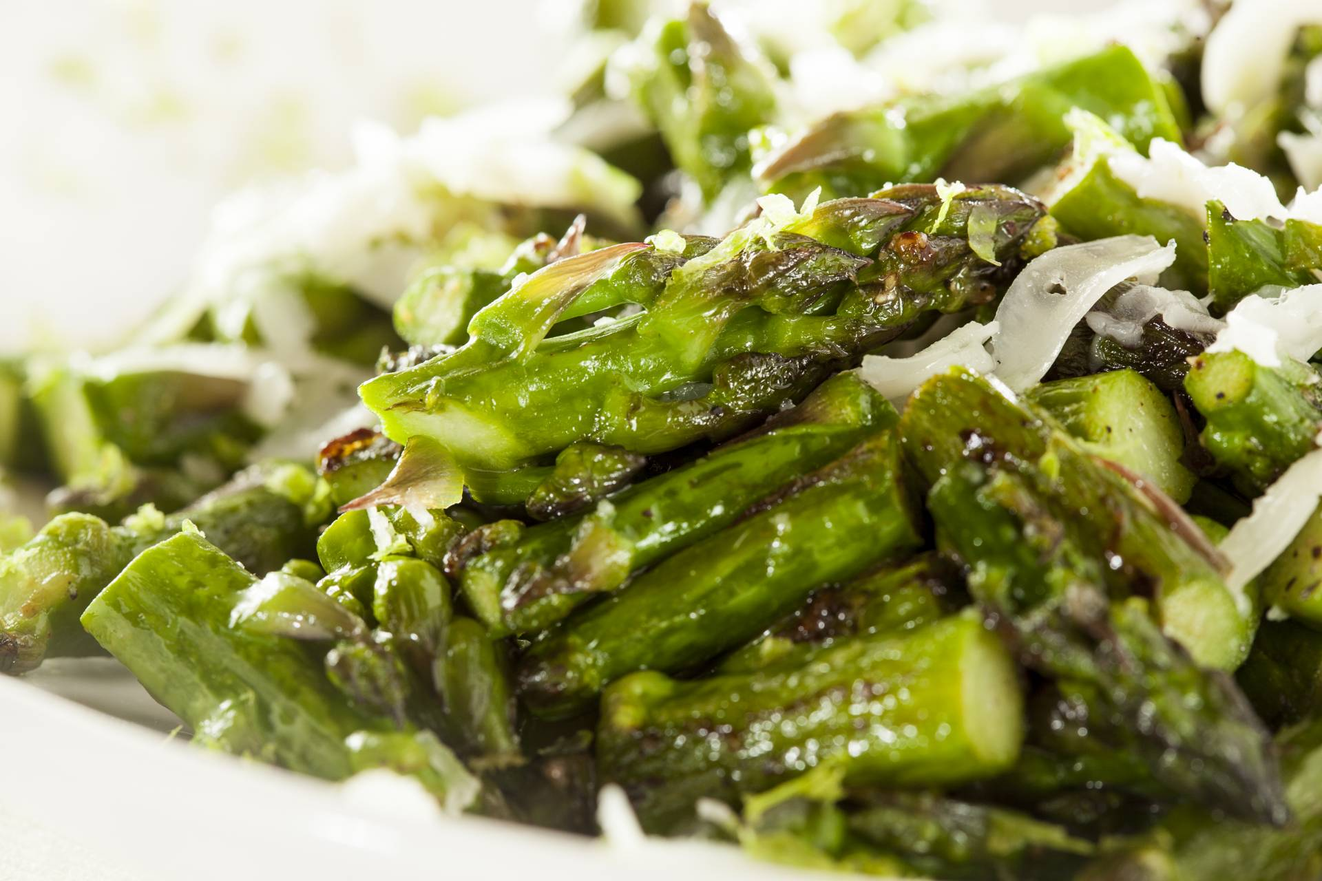 Sauteed Asparagus with Shallots & Lime