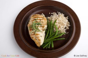 Grilled Chicken Breasts in Rosemary Marinade Recipe Image