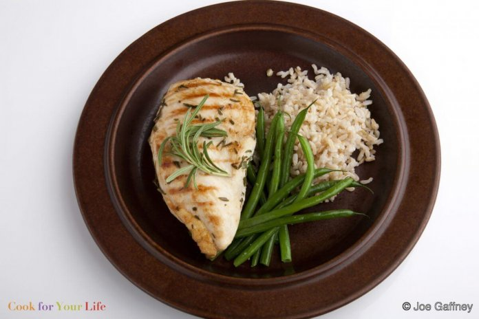 Grilled Chicken Breasts Rosemary Marinade