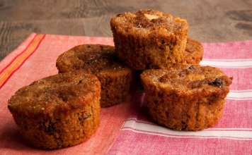 Apple Quinoa Muffins - Magdalenas de Manzanas y Quínoa - Anti-cancer Recipes - Cook for Your Life