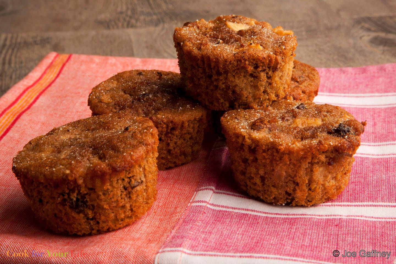 Apple Quinoa Muffins - Magdalenas de Manzanas y Quínoa - Anti-cancer Recipes - Cook for Your Life