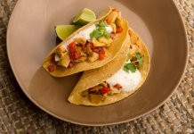 Artichoke and Pepper Tacos- anti-cancer recipes- cook for your life