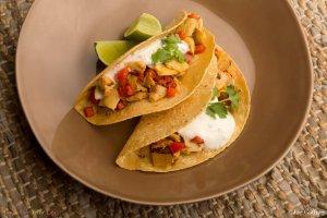 Artichoke & Pepper Tacos Recipe Image