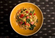Asian Inspired Pasta Primavera- anti-cancer recipes- cook for your life