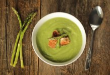 fennel & asparagus soup- anti cancer recipes- cook for your life