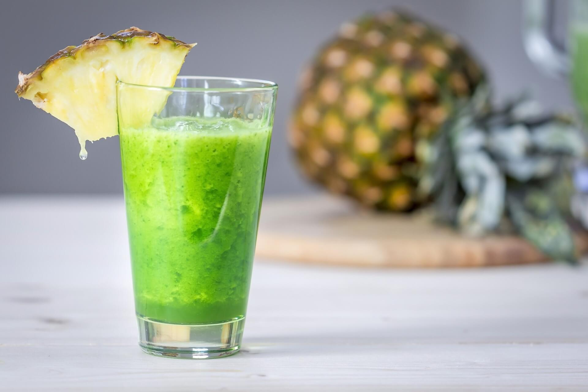 Avocado Pineapple Smoothie Image