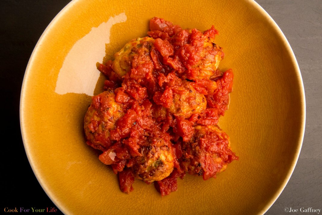 Baked Turkey Meatballs- anti-cancer recipes- cook for your life