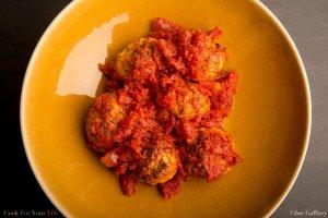 Baked Turkey Meatballs Recipe Image