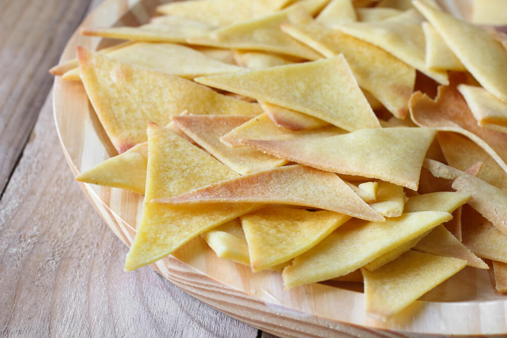 Baked Whole Wheat Tortilla Chips- cook for your life- anti-cancer recipes
