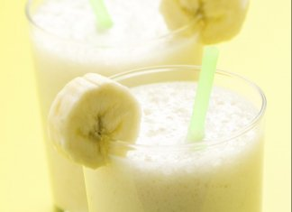 Banana, Orange & Kiwi Smoothie- anti-cancer recipes- cook for your life