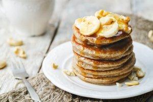 Banana Pancakes Recipe Image