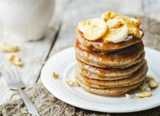 Banana Pancakes- anti-cancer recipes- cook for your life