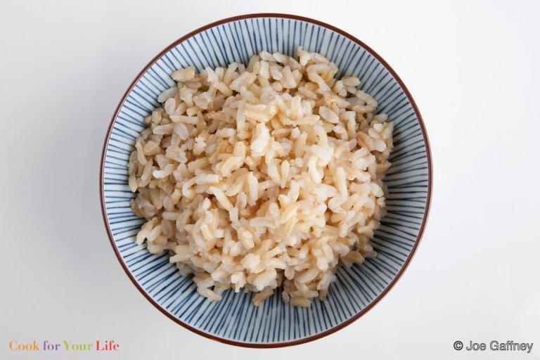 Basic Brown Rice Recipe Image