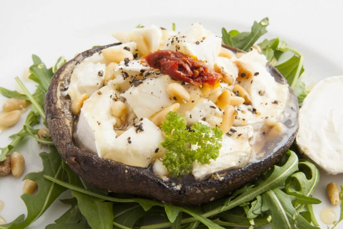 Basic Portobello Pizza, anti-cancer recipes - cook for your life