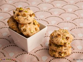 beans, cardamom, pistachio- bean cookies- cook for your life- anti-cancer recipes