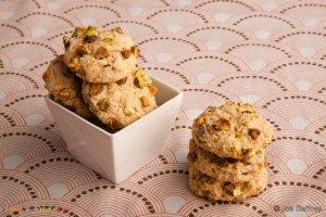 Bean Cookies with Cardamom & Pistachio Recipe Image