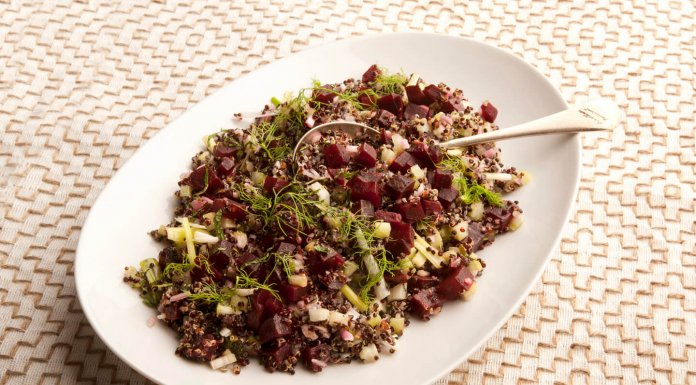 Beet Tabbouleh - Cook For Your Life- anti-cancer recipes