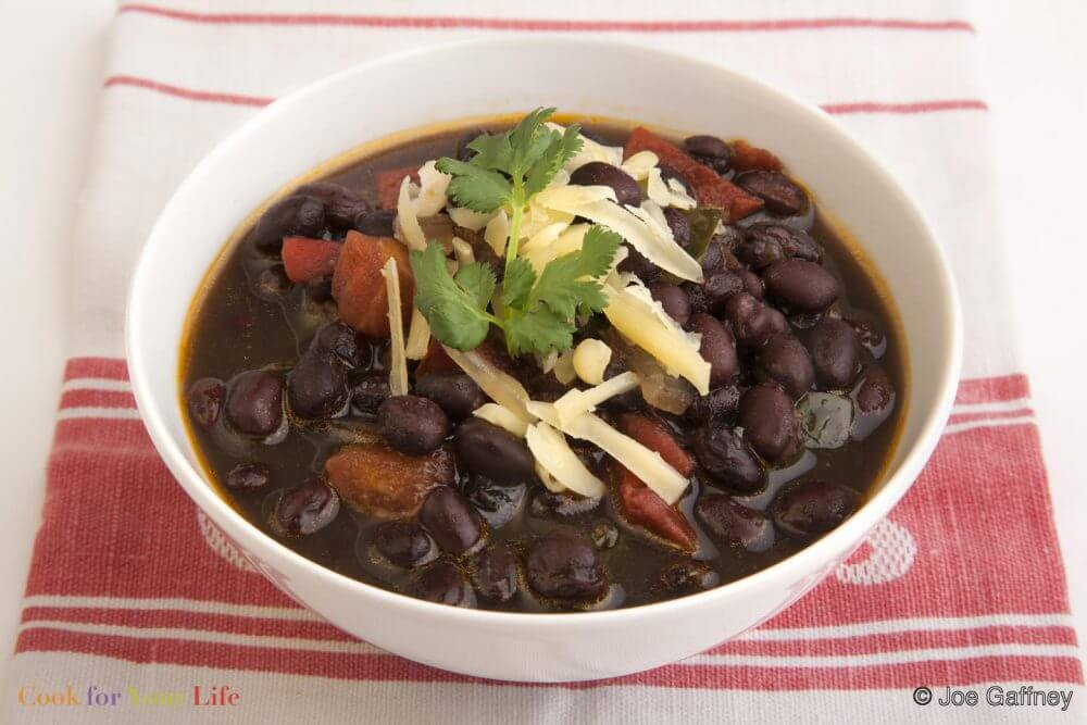 Chili de Frijoles Negros Image