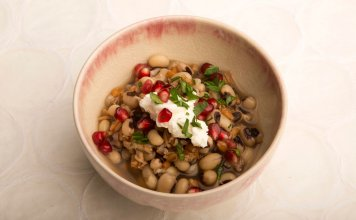 black eyed-peas, Chard, farro- anti-cancer recipes- cook for your life
