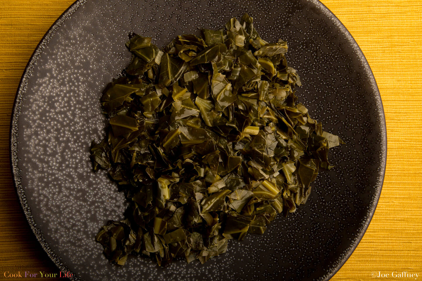 Braised Collard Greens- anti-cancer recipes- cook for your life