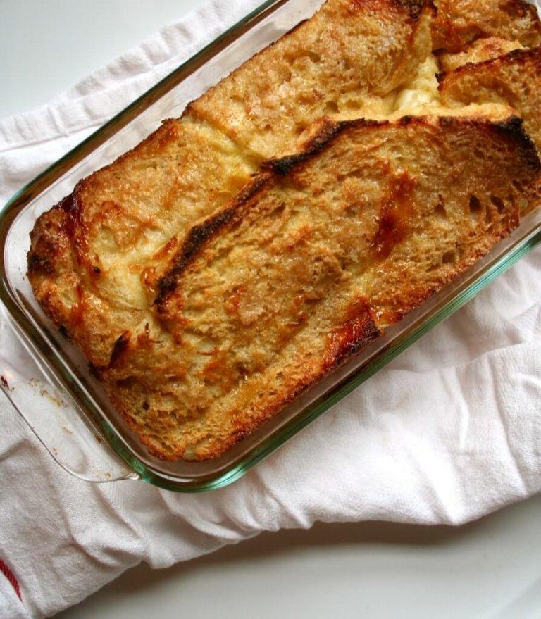 Pudín de Pan y Mantequilla Recipe Image