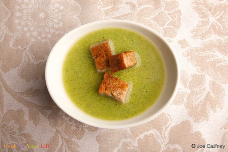 Broccoli Cheddar Soup Recipe Image